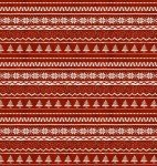 3W-Jingle All The Way 16630 Red - Sweater Print