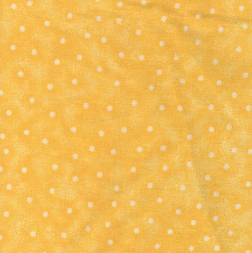 CHOICE FABRICS 108 INCH WIDE QUILT BACKING BLENDER DOT CORN YELLOW