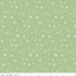 Winter Tales Snowflake Green C7313