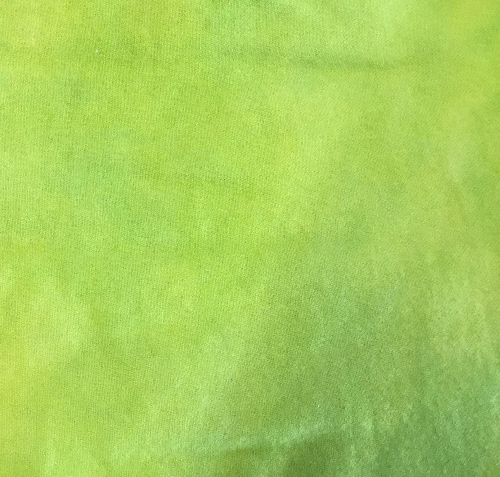 100% Wool Hand dyed  Key Lime