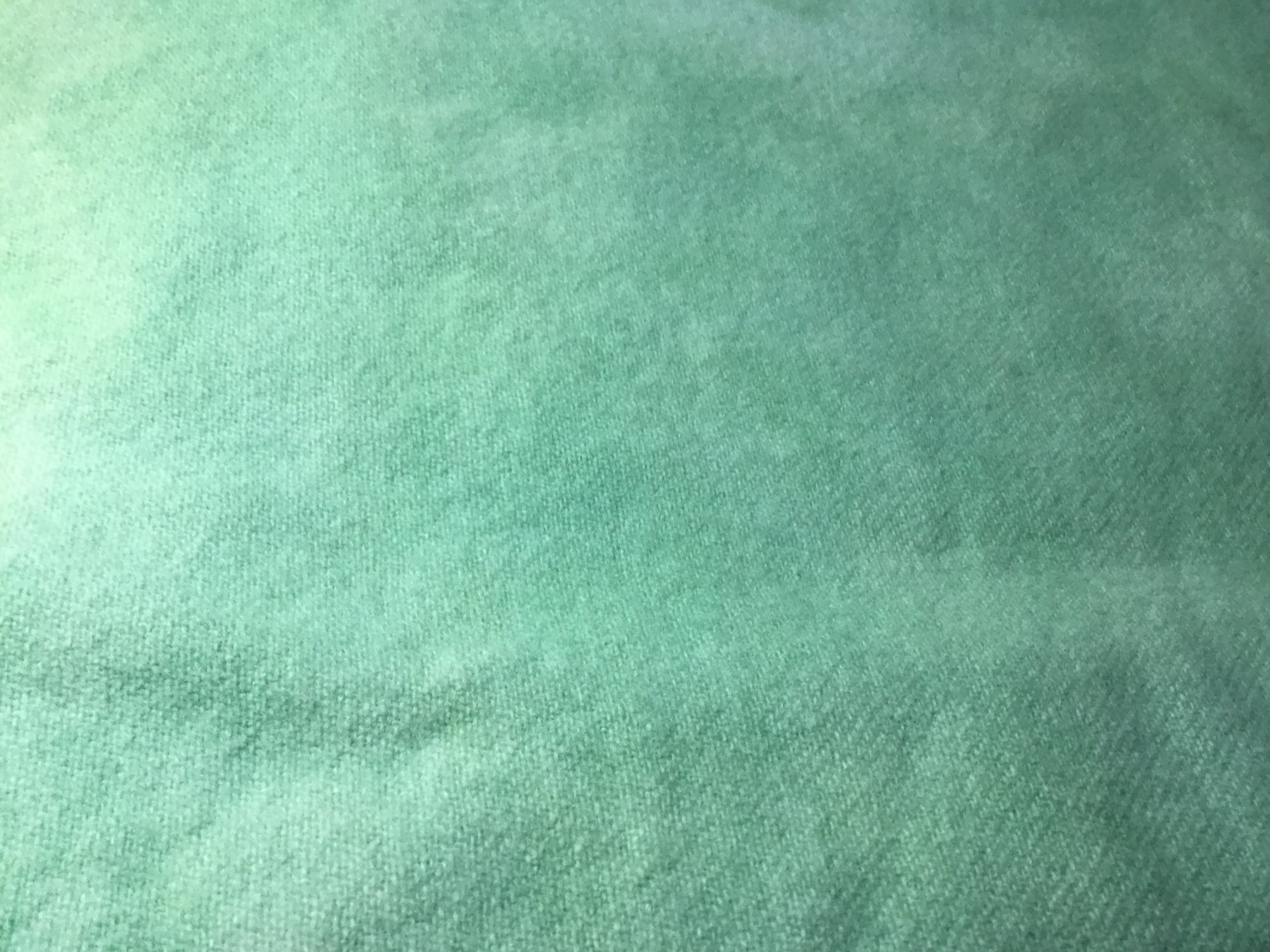 100% Wool Handyed Ocean Green