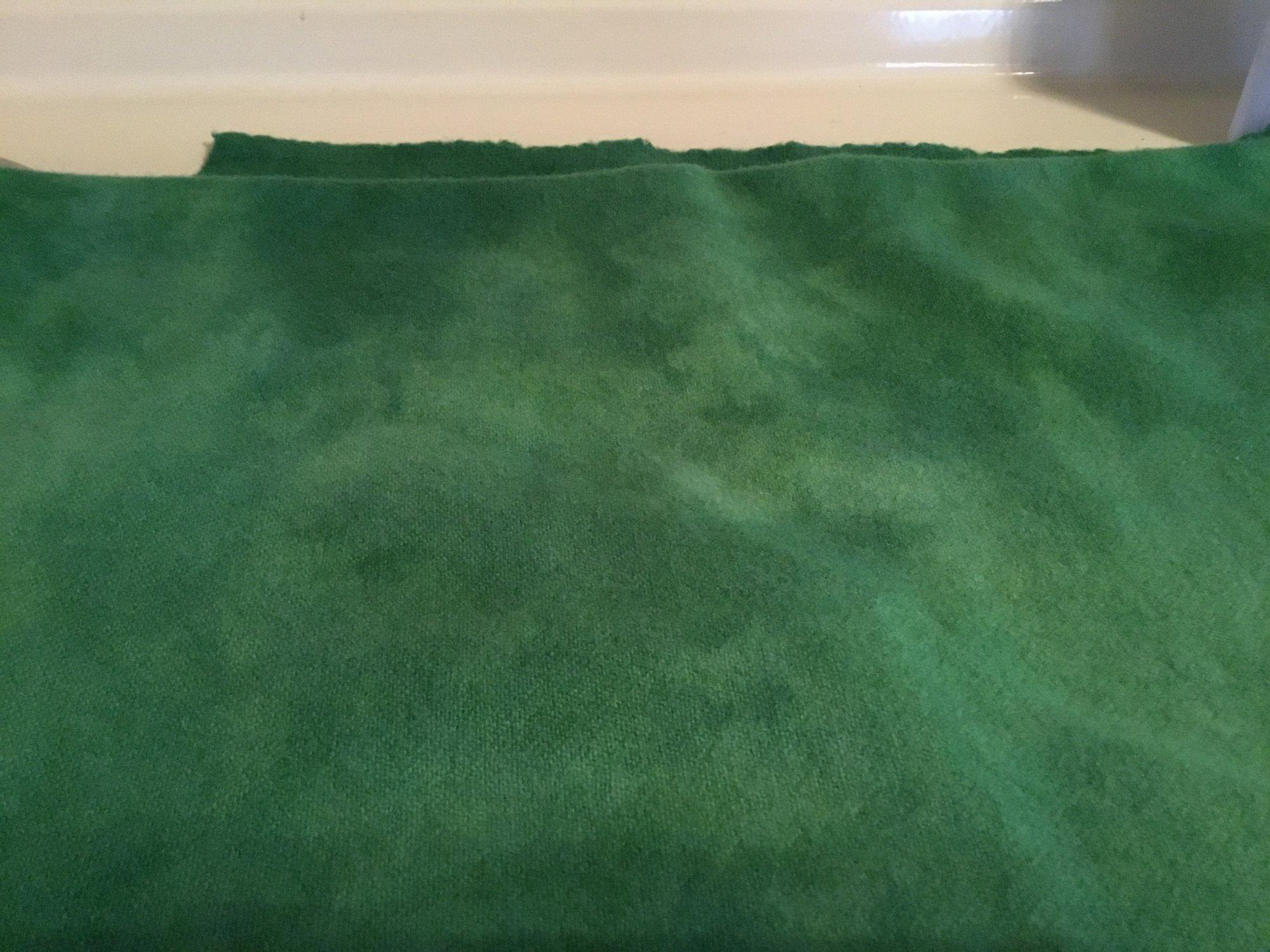 100% Wool Handyed Hunter Green