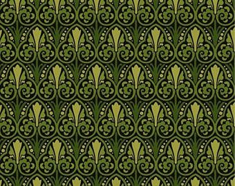 Deco Elegance dark green/light green