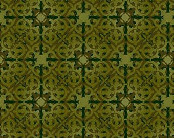 Deco Elegance dark green tile