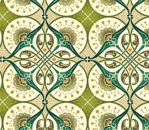 Jason Kenner Deco Elegance Kaleidoscope Teal