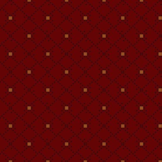 Dark Red Diamond Geo