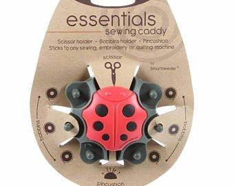 Ladybug Sewing Caddy Organizer