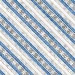 Grey Ticking Stripe