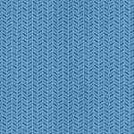 Blue Cable Knit Texture