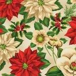 Tan Large Floral