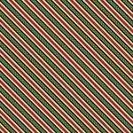 Green Ticking Stripe