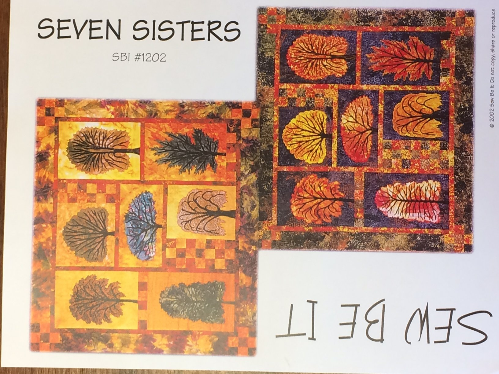 Seven Sisters Quilt Pattern