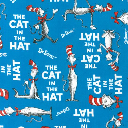 The Cat in the Hat in Blue