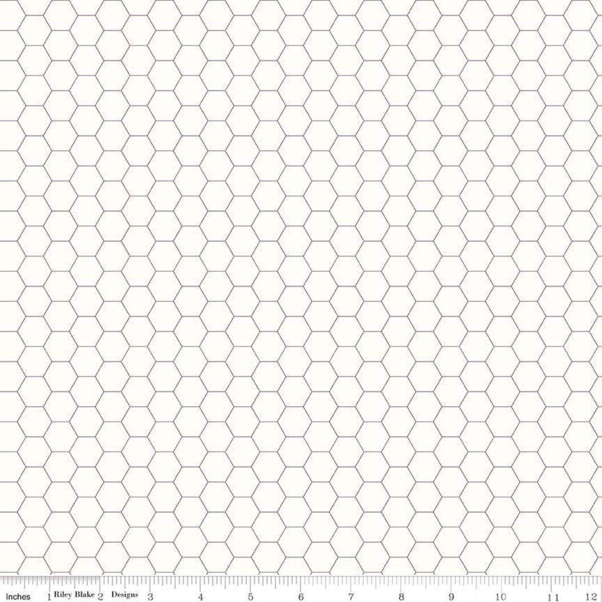 Bee Backgrounds Honeycomb Gray