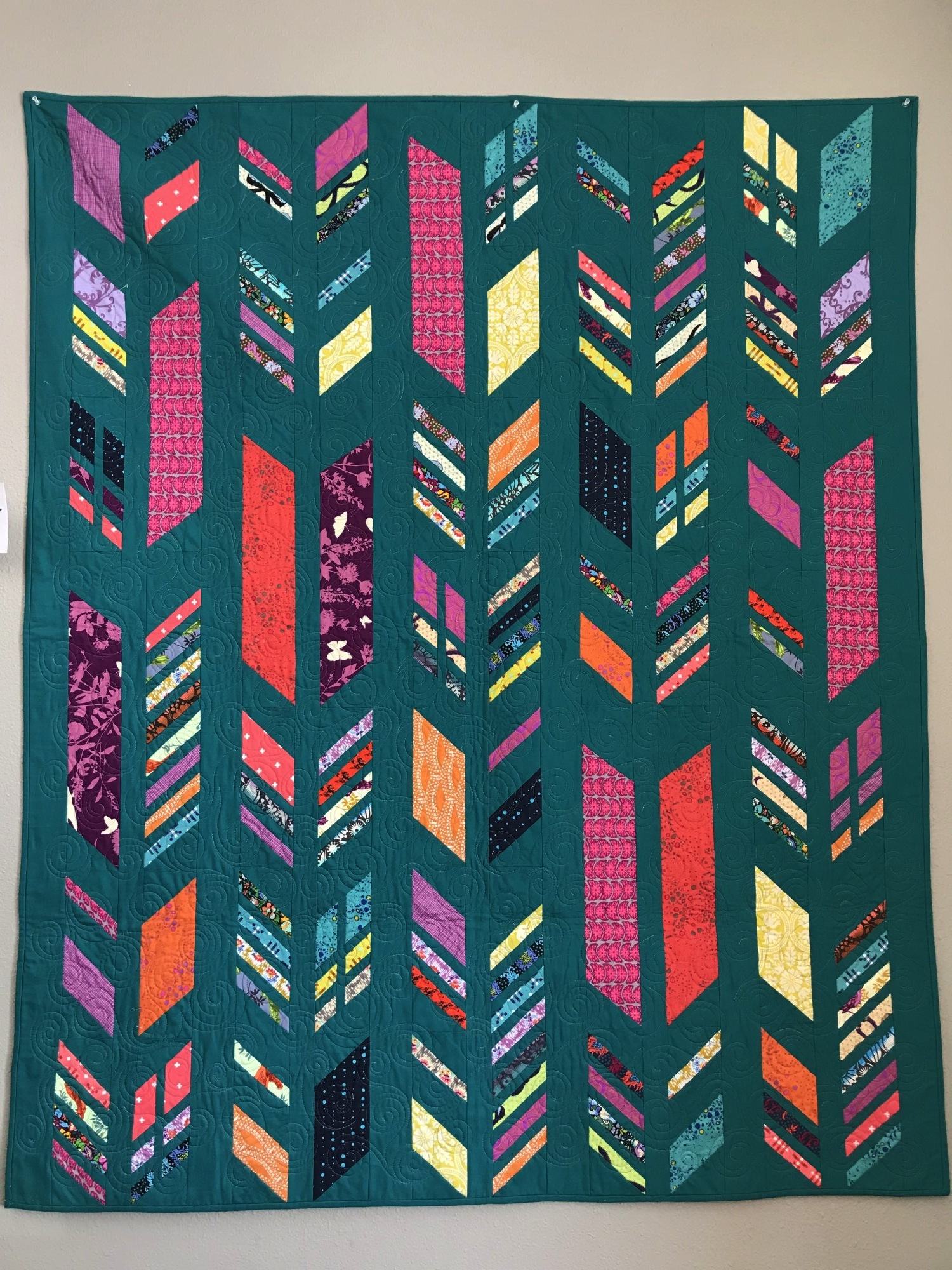 Feathers Quilt Foundation Paper Piecing