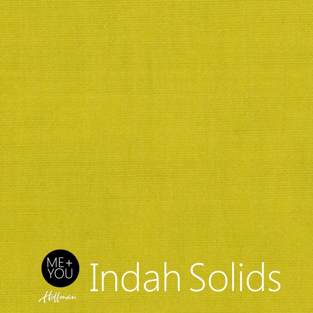 Indah Hand-Dyed Solids Chartreuse