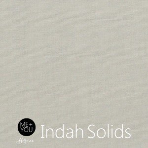 Indah Hand-Dyed Solids Warm Gray