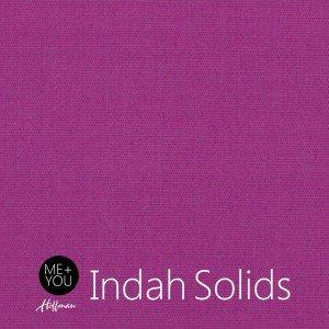 Indah Hand-Dyed Solids Magenta