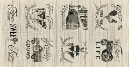 Homegrown Linen Panel 10