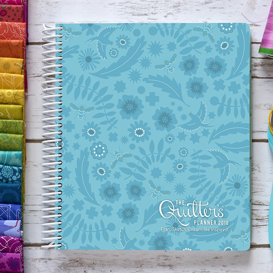Quilter's Planner 2018