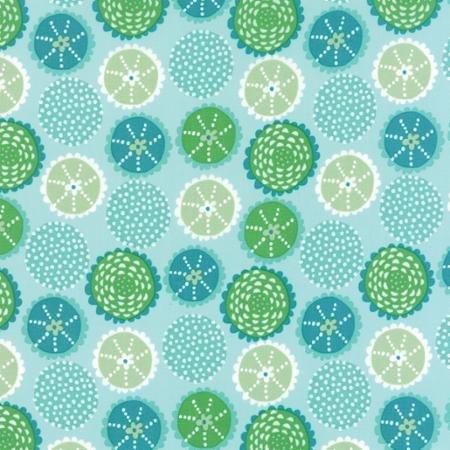 Coral Queen Kaleidoscope Aqua