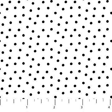 Cheers Dots Black & White