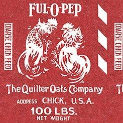 Fowl Play Feed Sak Red