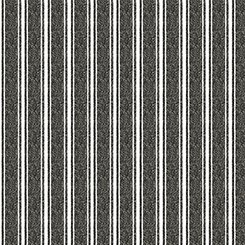 Fowl Play Textured Ticking Gray