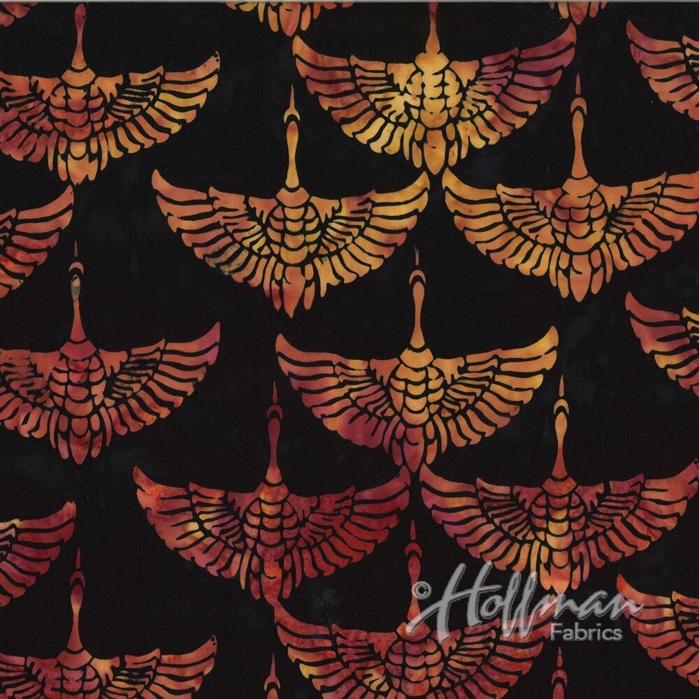 Bali Batik Cranes Horizon