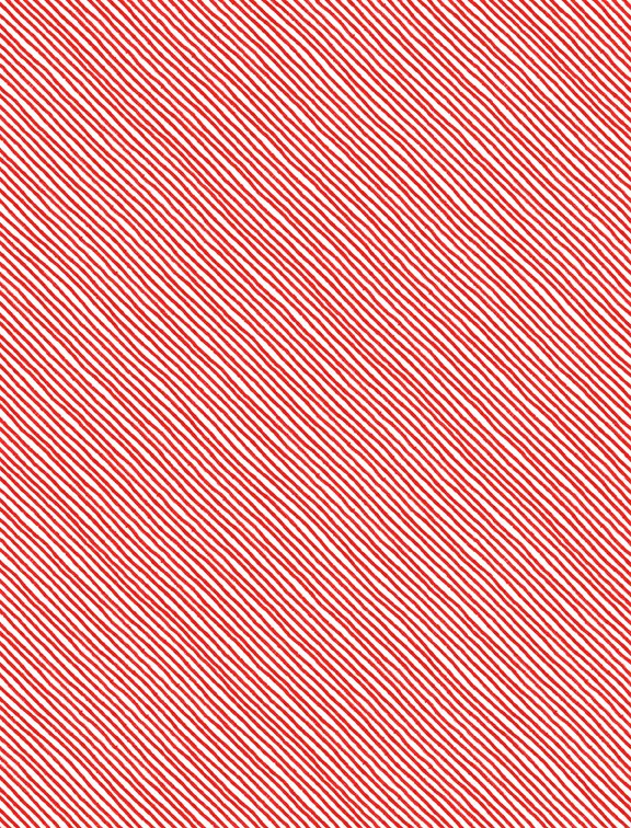 Sing Your Song Red / White Stripe