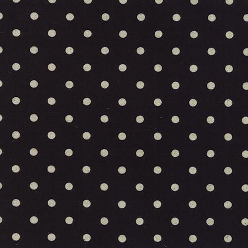 Mochi Linen Dot on Black