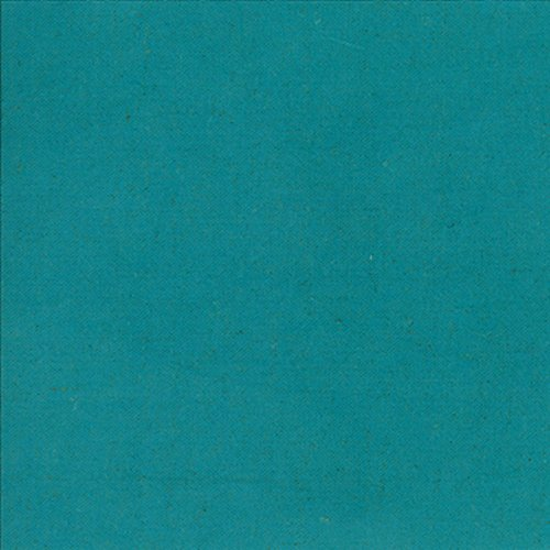 Linen Mochi Solid Turquoise
