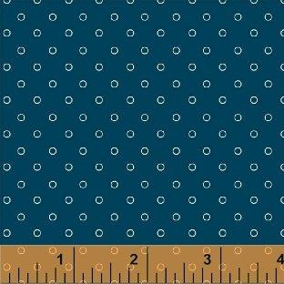 Candyland Dots Blackberry Blue