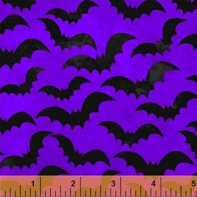 Eat Drink & Be Scary Bats on Purple