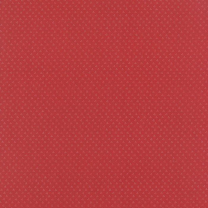 Midnight Clear Flurries Crimson