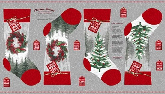 Holiday Traditions Stocking Panel