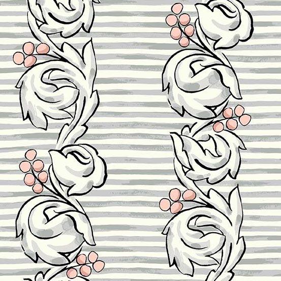 Flourish Scroll Tea Rose