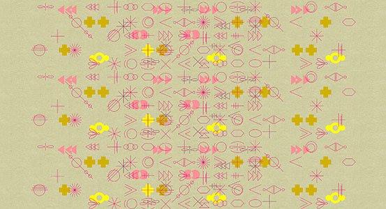 Adorn Geometrics on Linen