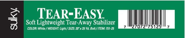 Tear Easy Stabilizer