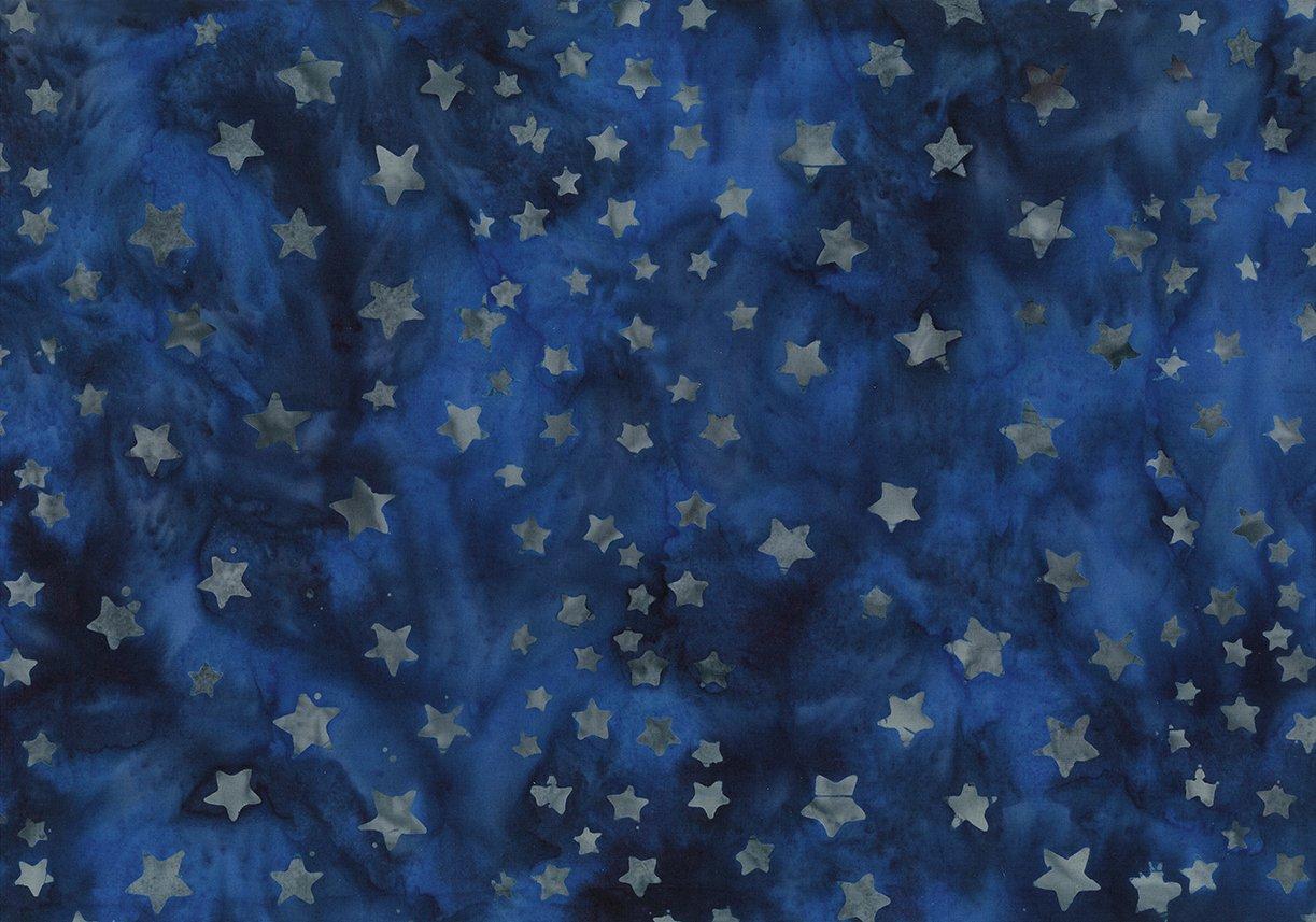 Batik Bandana Navy Stars