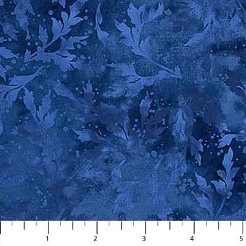 Essence Navy Blue Tonal Leaves