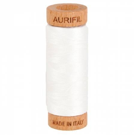 Aurifil Cotton 2021 Nat White 80wt