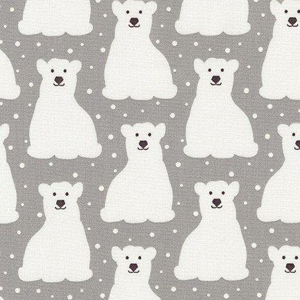 Arctic Polar Bears Grey