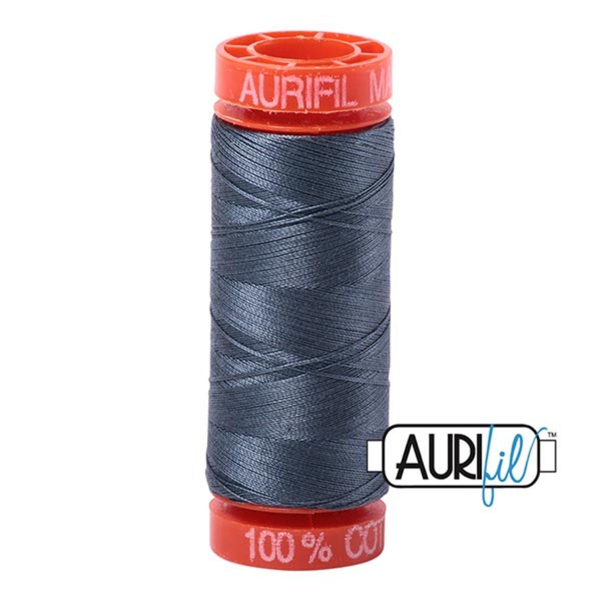 Aurifil Cotton 1158 Med Gray 50wt 220 yds