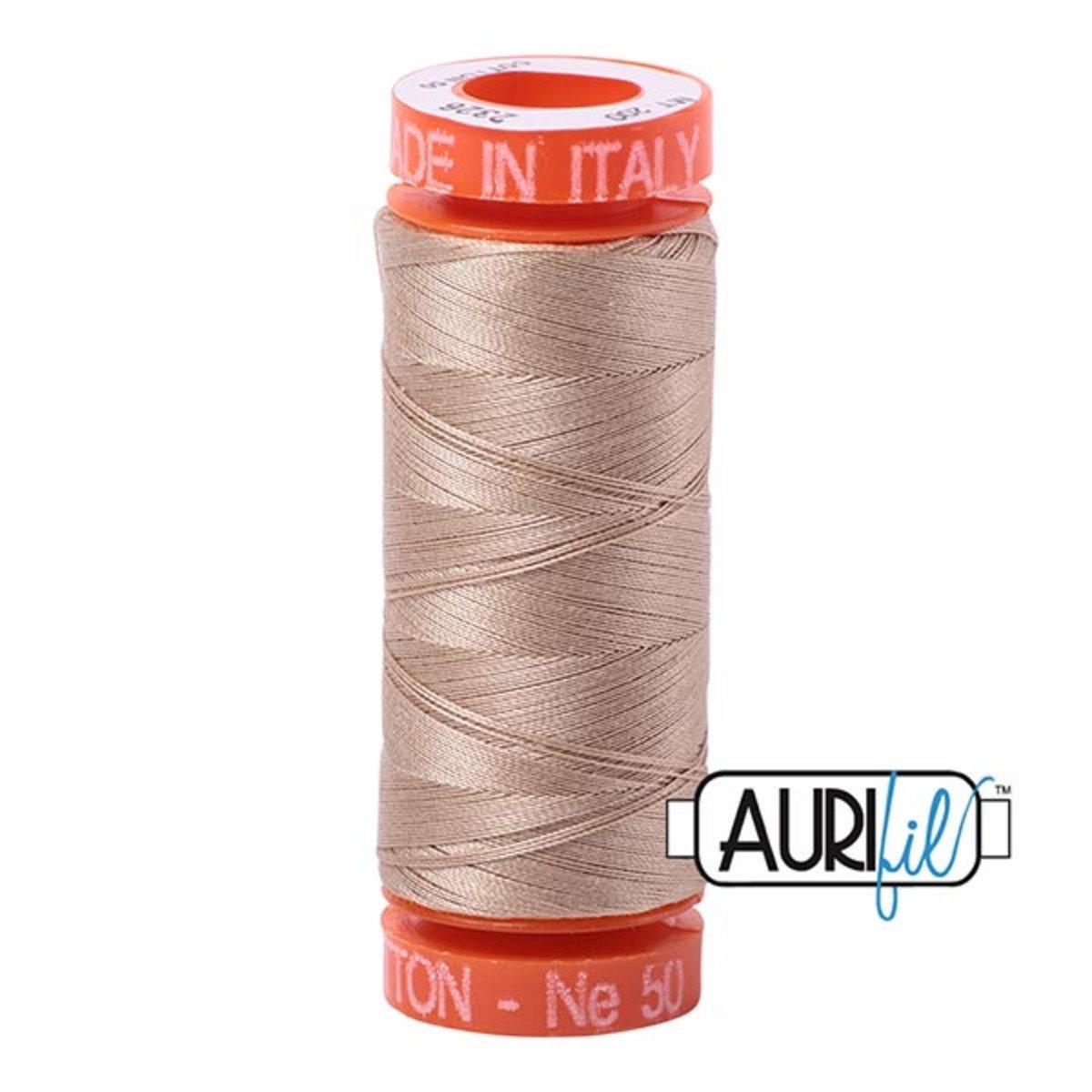 Aurifil Cotton 2325 Lt Khaki 50wt 1422yds