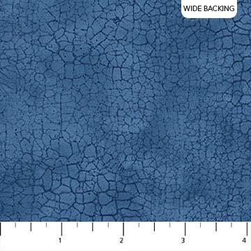 108 Crackle Blue Bayou Wide Backing