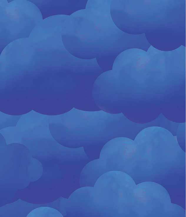 WWQSH 2018 Clouds Blue