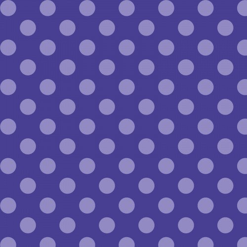 Fleece Purple Dots