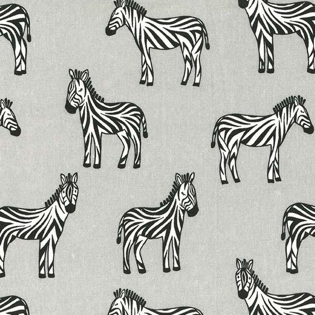 Zippy Zebra Flannel