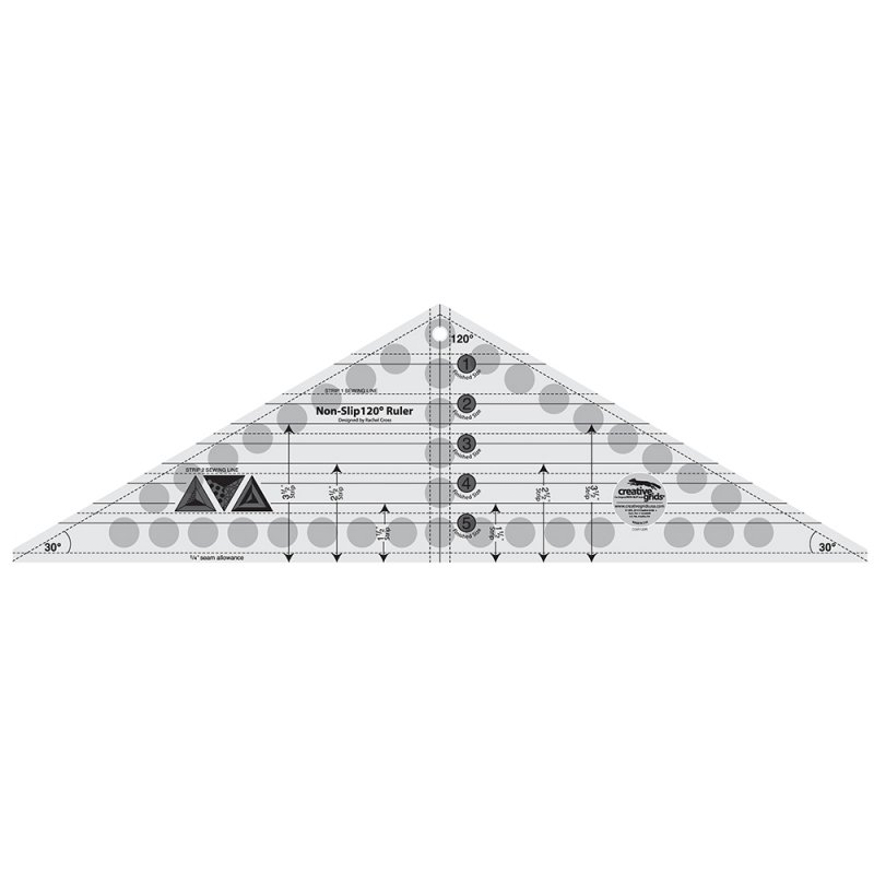 CGR 120 degree Triangle Ruler